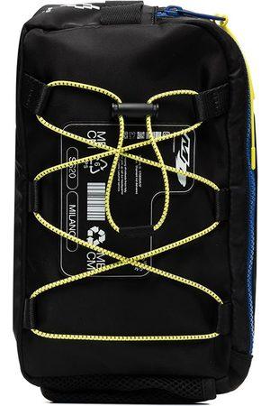 MARCELO BURLON Logo patch lace-up crossbody bag