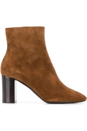 Saint Laurent Block 80 heel ankle boots