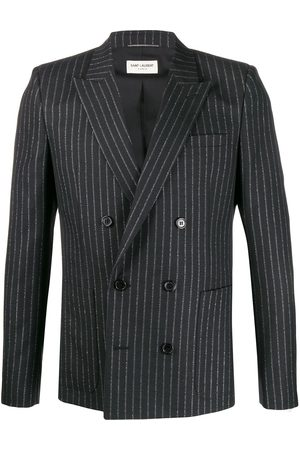 Saint Laurent Double breasted pin stripe blazer
