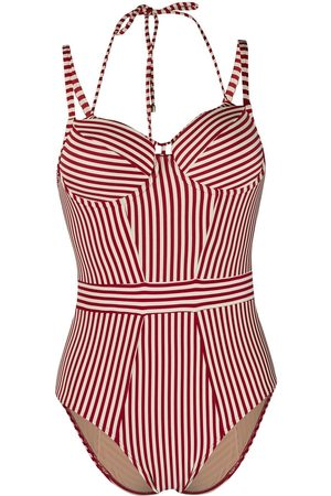 Marlies Dekkers Dames Strandmode - Striped vintage-style one piece