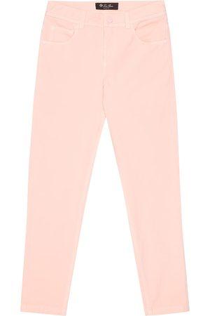 Loro Piana Mathias stretch-cotton skinny jeans