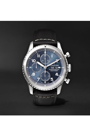 Breitling Heren Horloges - Navitimer 8 Automatic Chronograph 43mm Steel And Leather Watch, Ref. No. A13314101c1x1