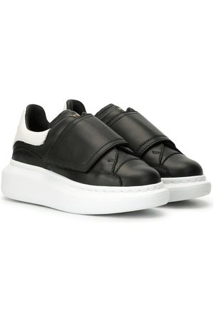 Alexander McQueen Kids Touch-strap low-top sneakers