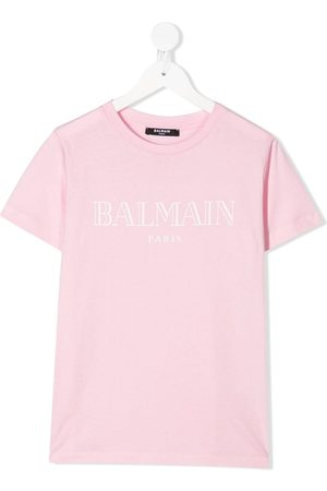 Balmain Kids Logo print T-shirt