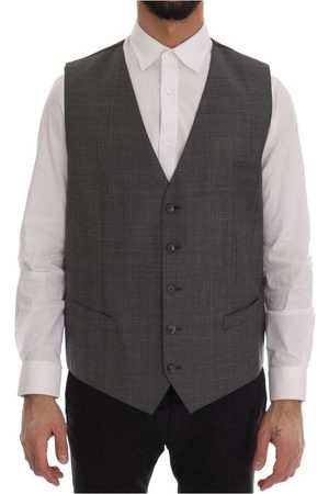 Dolce & Gabbana Wool Formal Dress Vest