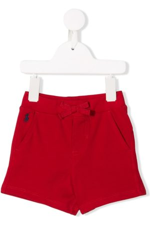 Ralph Lauren Kids Embroidered logo shorts
