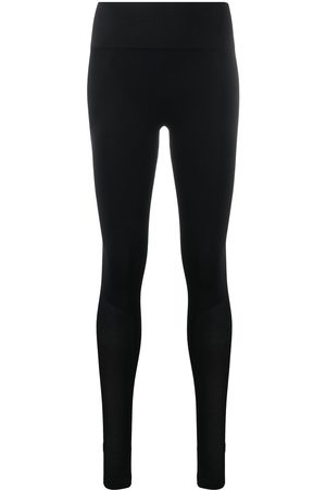 """Filippa K Soft Sport"" Seamless open heel mesh leggings"
