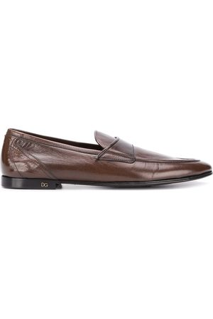 Dolce & Gabbana Leather slip-on loafers