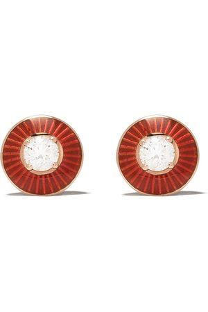 SELIM MOUZANNAR 18kt diamond Mina stud earrings