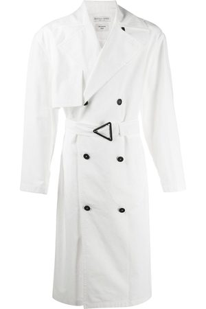 Bottega Veneta Double-breasted belted trench coat