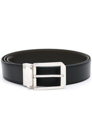 Ermenegildo Zegna Silver-tone hardware belt