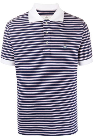 Vivienne Westwood Striped print polo shirt