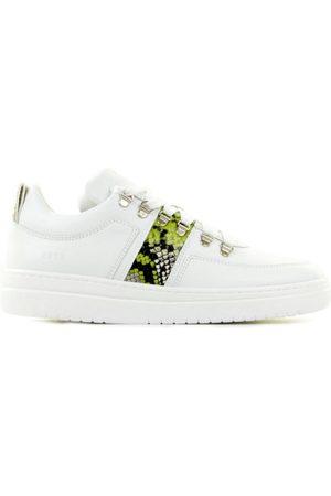 Nubikk Yeye Block Python White Damessneakers