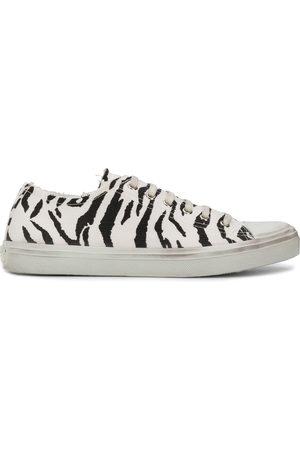 Saint Laurent Bedford zebra print sneakers