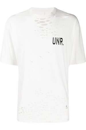 Unravel Project Distressed effect T-shirt