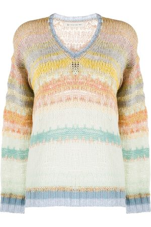 Etro Oversized striped jumper
