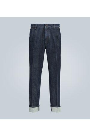 Prada Wide-leg selvedge jeans