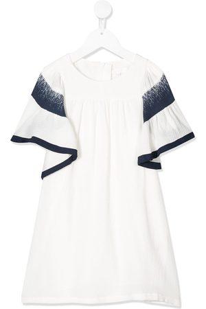 Chloé Ruffled sleeve dress