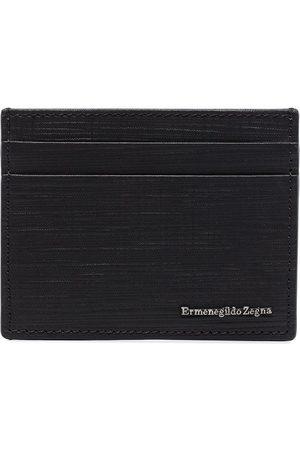 Ermenegildo Zegna Heren Portemonnees - Logo embossed cardholder