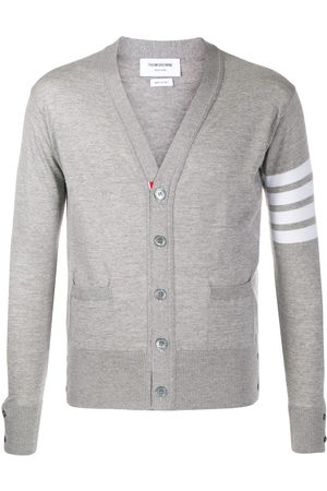 Thom Browne Merino wool v-neck cardigan