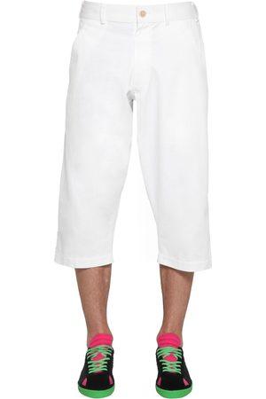 Comme des Garçons Cropped Cotton Twill Pants