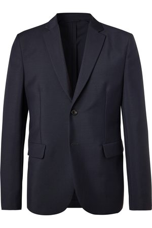 Acne Studios Heren Blazers - Black Antibes Unstructured Wool And Mohair-blend Blazer