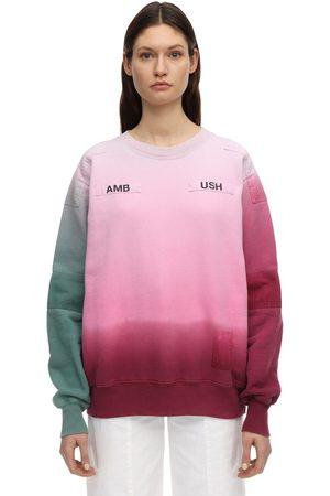 AMBUSH Degradé Print Cotton Sweatshirt