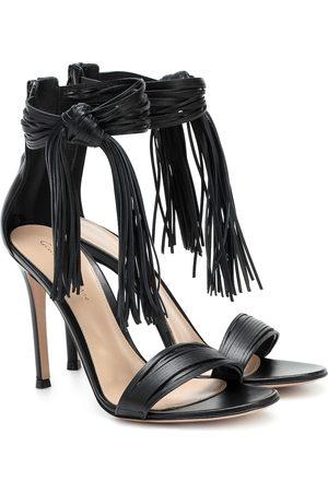 Gianvito Rossi Tasseled leather sandals