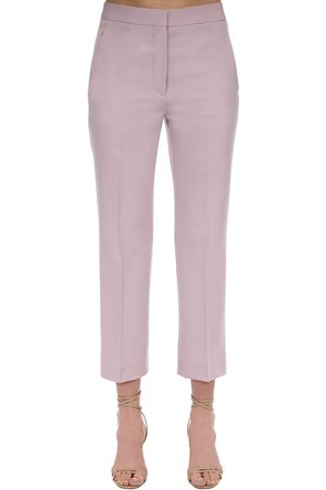 Stella McCartney Flared Tailored Stretch Wool Pants