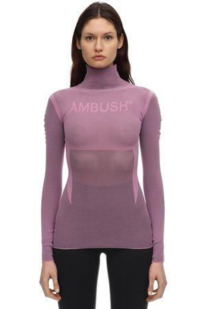 AMBUSH Logo Nylon Blend Top