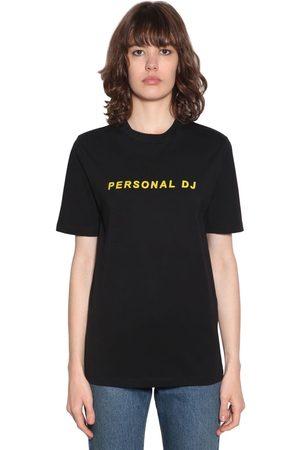 Kirin Personal Dj Flocked Basic T-shirt