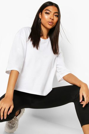 Boohoo Tall Basic Crop T-Shirt
