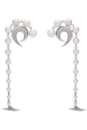 Tasaki 18kt diamond Cove earrings