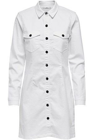 Only Button-up Denim Jurk Dames