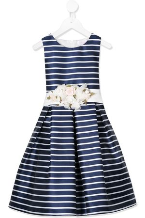Mimilù Sleeveless striped party dress