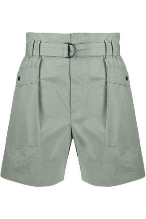 Isabel Marant Zayna belted shorts