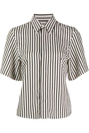 Ami Striped short-sleeve shirt