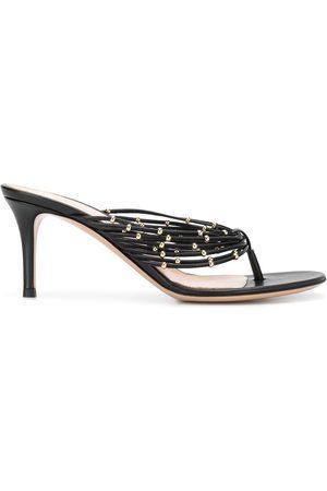 Gianvito Rossi Dames Pumps - Beaded detail stiletto heel sandals