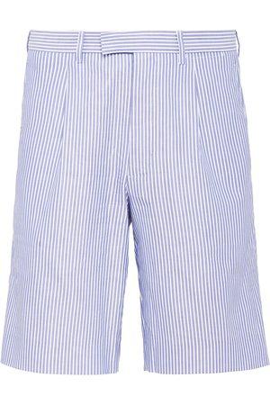 Prada Striped Bermuda shorts