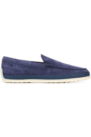 Tod's Raffia mid-sole loafers