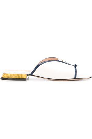 Gucci Square open toe sandals