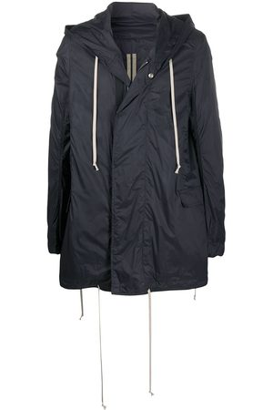 Rick Owens Buttoned hooded parka