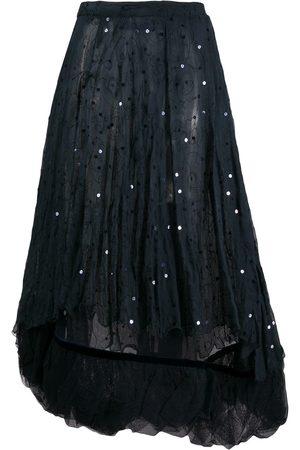 ROMEO GIGLI FW 2000s sequinned layered skirt