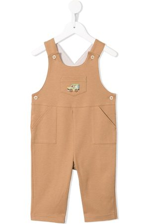 Familiar Baby Salopetten - Truck embroidered dungarees