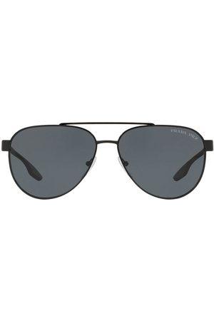 Prada Prada Linea Rossa aviator style sunglasses