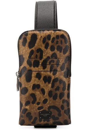 Dolce & Gabbana Leopard print cross-body bag