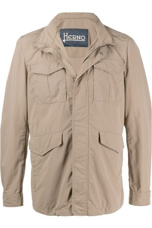 HERNO High-neck field jacket