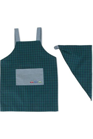 Familiar Gingham checked apron
