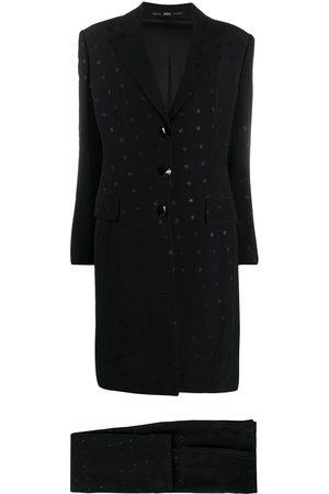 Gianfranco Ferré 1990s appliqués two-piece suit