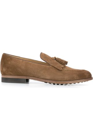 Tod's Tassel-embellished leather loafers